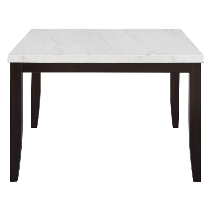Steve Silver Co Francis Counter Height Square Marble Dining Table Dining Table Marble Marble Dining Dining Table