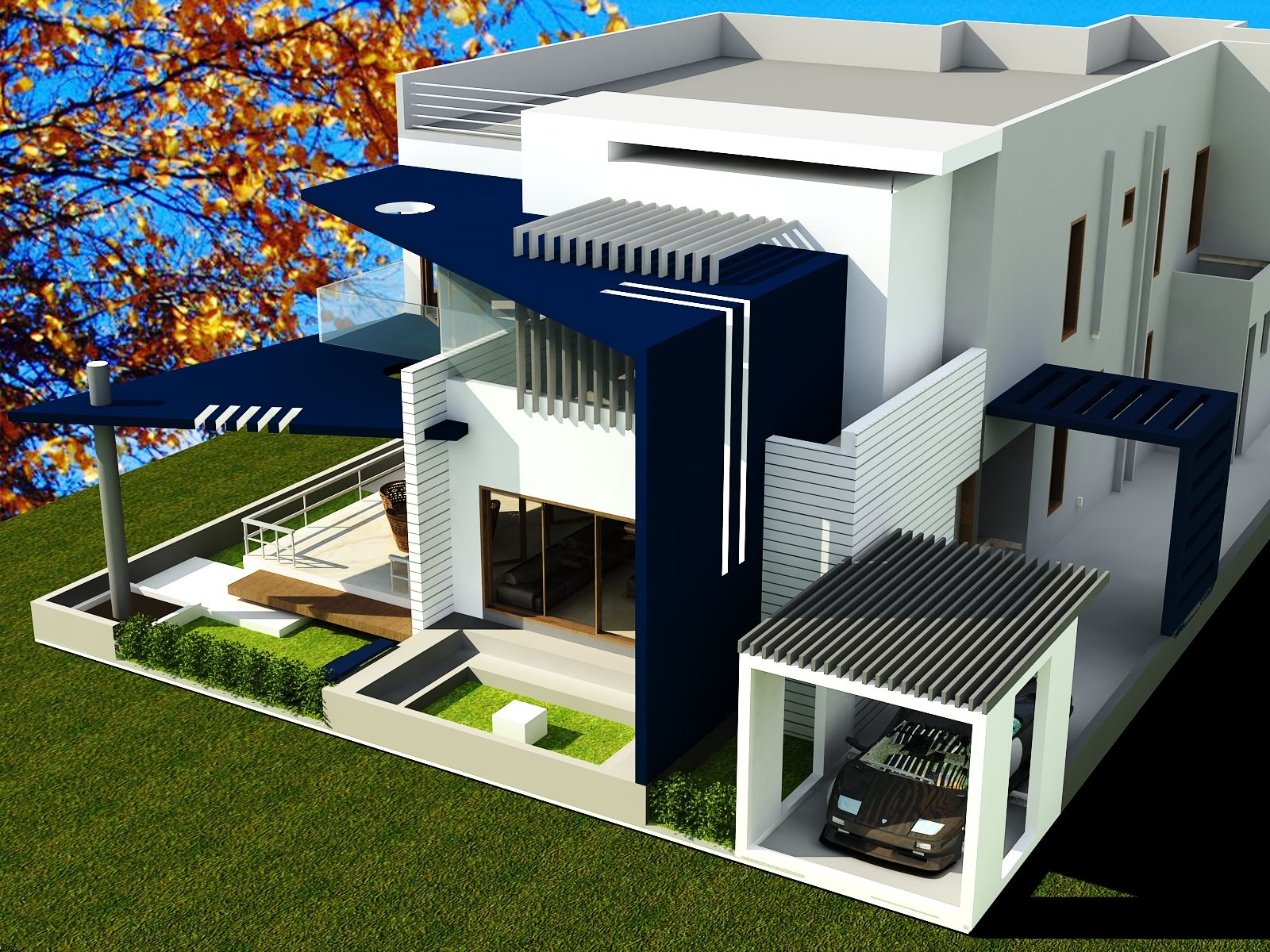 Duplex house plans address need of Unique Family Sizes in India