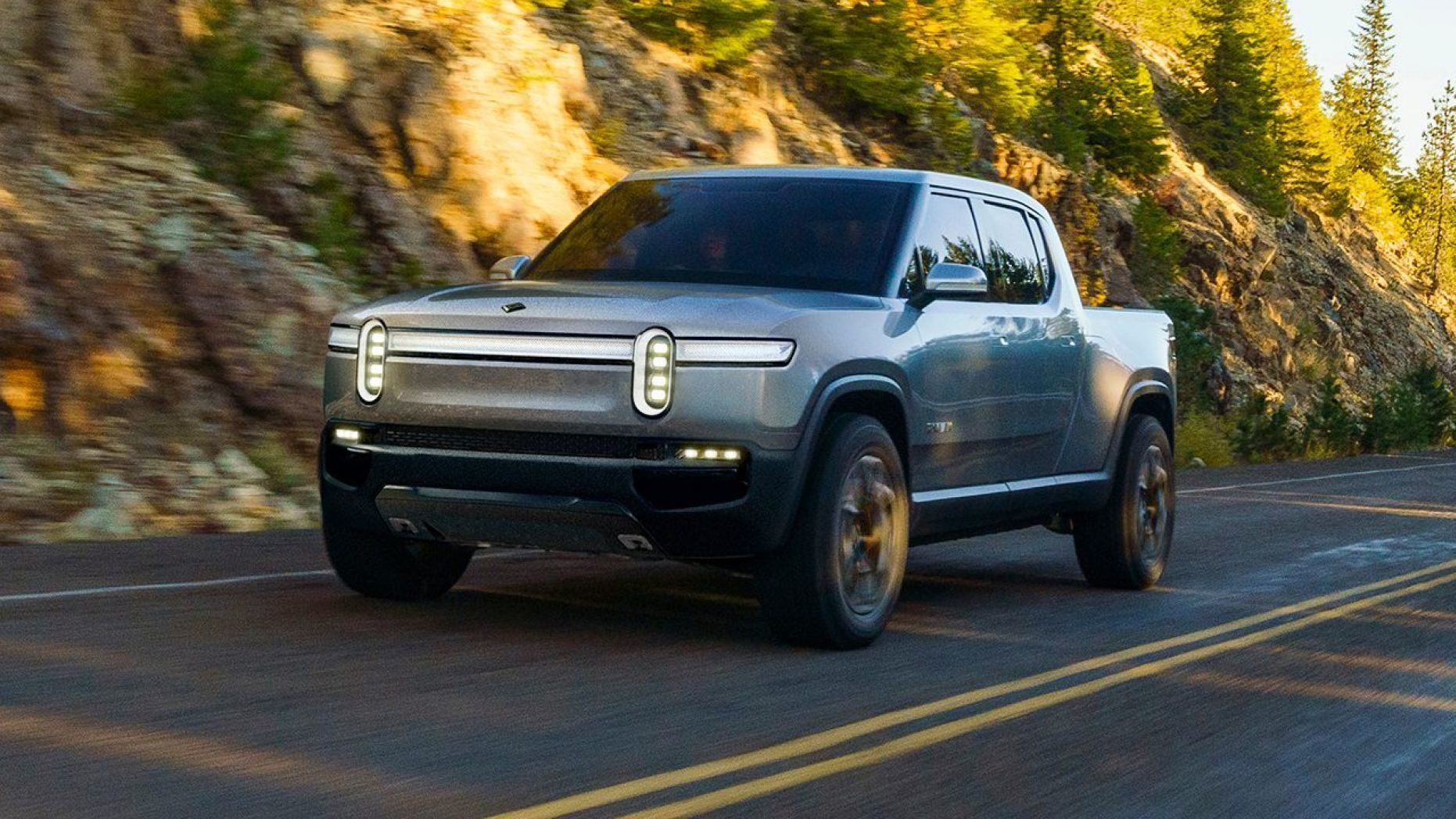 The Rivian R1t Is The American Made Electric Pickup Of The Near Future Pickup Trucks Electric Pickup Truck Electric Truck