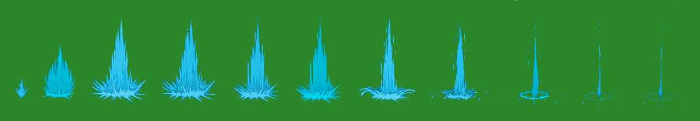 Sprite Fx: Sprite Water | Cel Animation | Pinterest | Sprites and Animation Wailmer Sprite