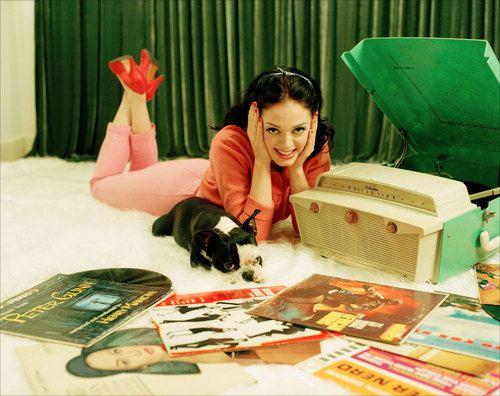 Rose Mcgowan Boston Terrier Love Rose Mcgowan Vinyl