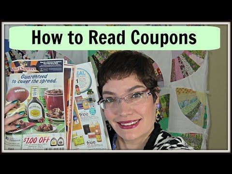 Couponing 101: Understanding How to Read Coupons - (More info on: http://LIFEWAYSVILLAGE.COM/coupons/couponing-101-understanding-how-to-read-coupons/)