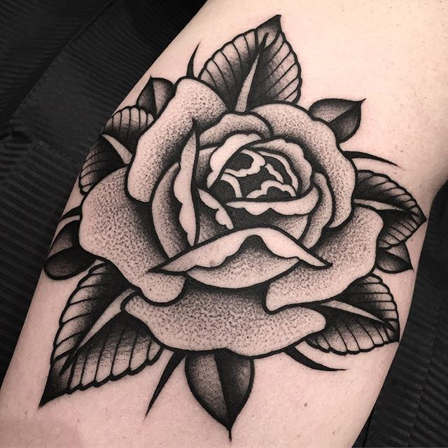 Perfect Black And Grey Rose Tattoo Inked On The Left Forearm In 2020 Black And Grey Rose Tattoo Black And Grey Rose Black Rose Tattoos