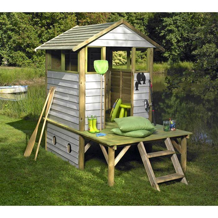 maison jeux ext rieur cabane pour enfants bois arthur cabane pinterest. Black Bedroom Furniture Sets. Home Design Ideas