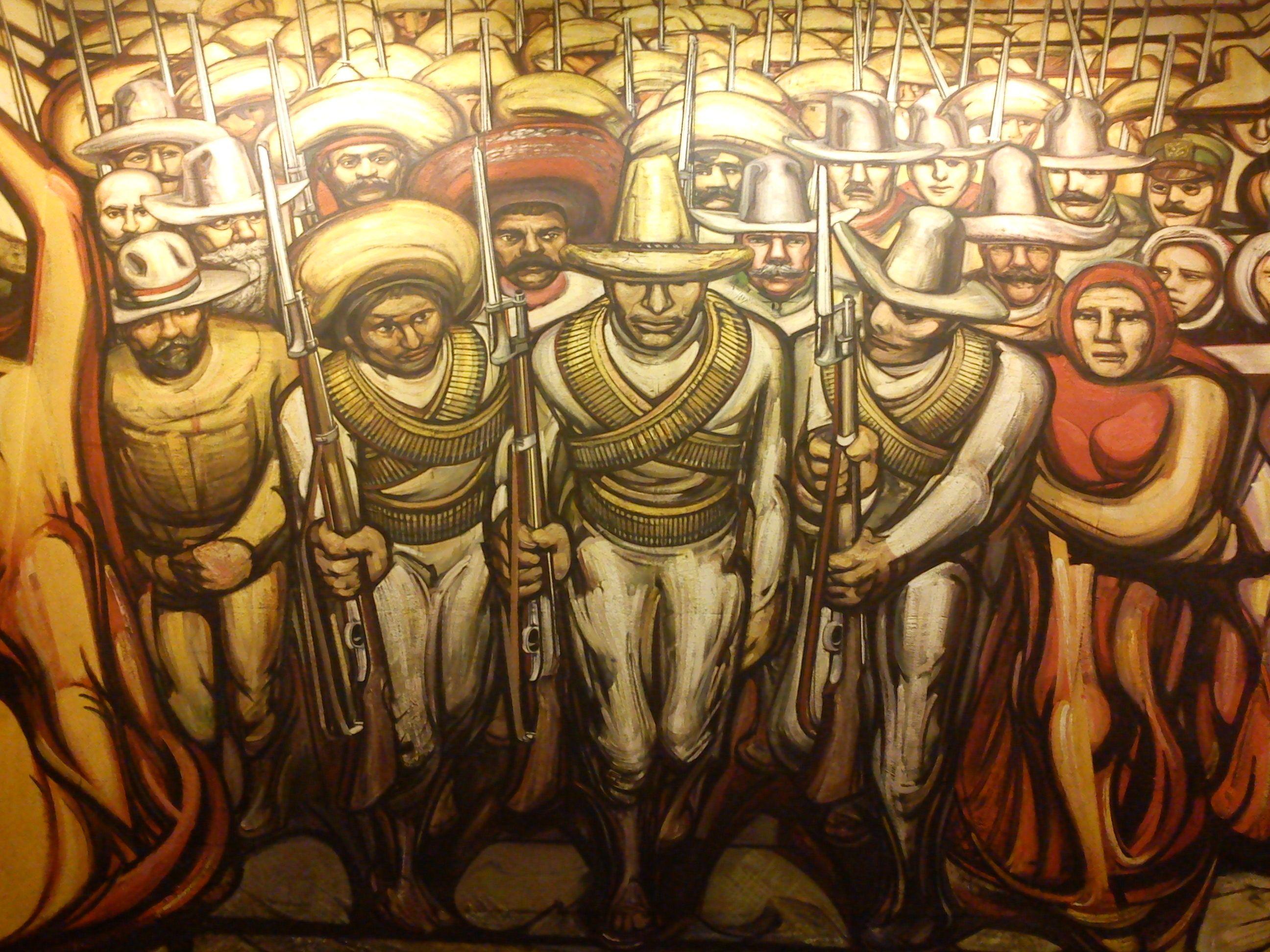 Del Porfiriato A La Revolucion David Alfaro Siqueiros 1959