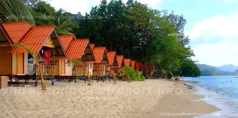 White Sand Beach Koh Chang Palm Trees Google Search