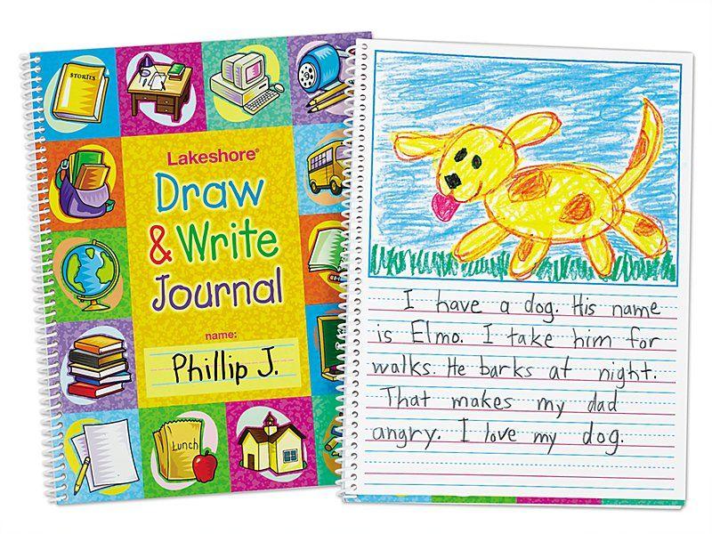 Draw Write Journal Journal Writing Writing Center Lakeshore Learning