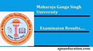 Mgsu Ba Final Year Result 2018 Mgsubikaner Ac In Ba 3rd Results
