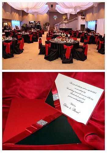Awesome Red And Black Wedding Ideas For A Little Bid Edgy And Love Lace Check More At Http Jhar Black Red Wedding Black Wedding Themes Silver Wedding Colours