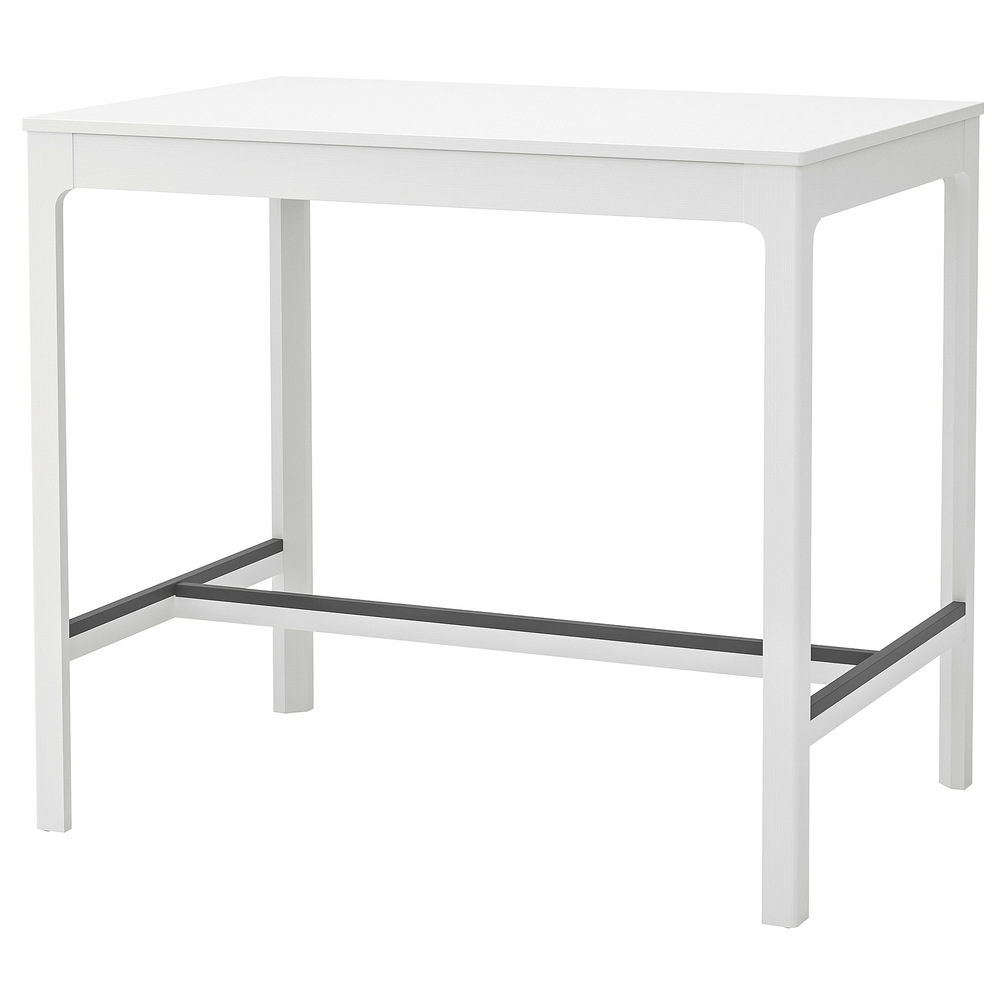 Ekedalen Bar Table White 47 1 4x31 1 2 White Bar Table Bar