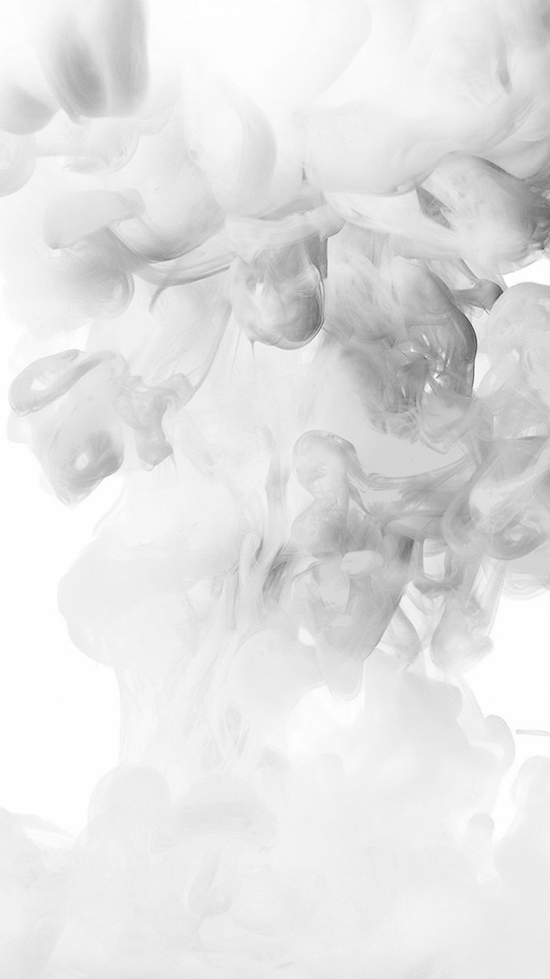 Smoke White Abstract Fog Art Illust iPhone 8 Wallpapers