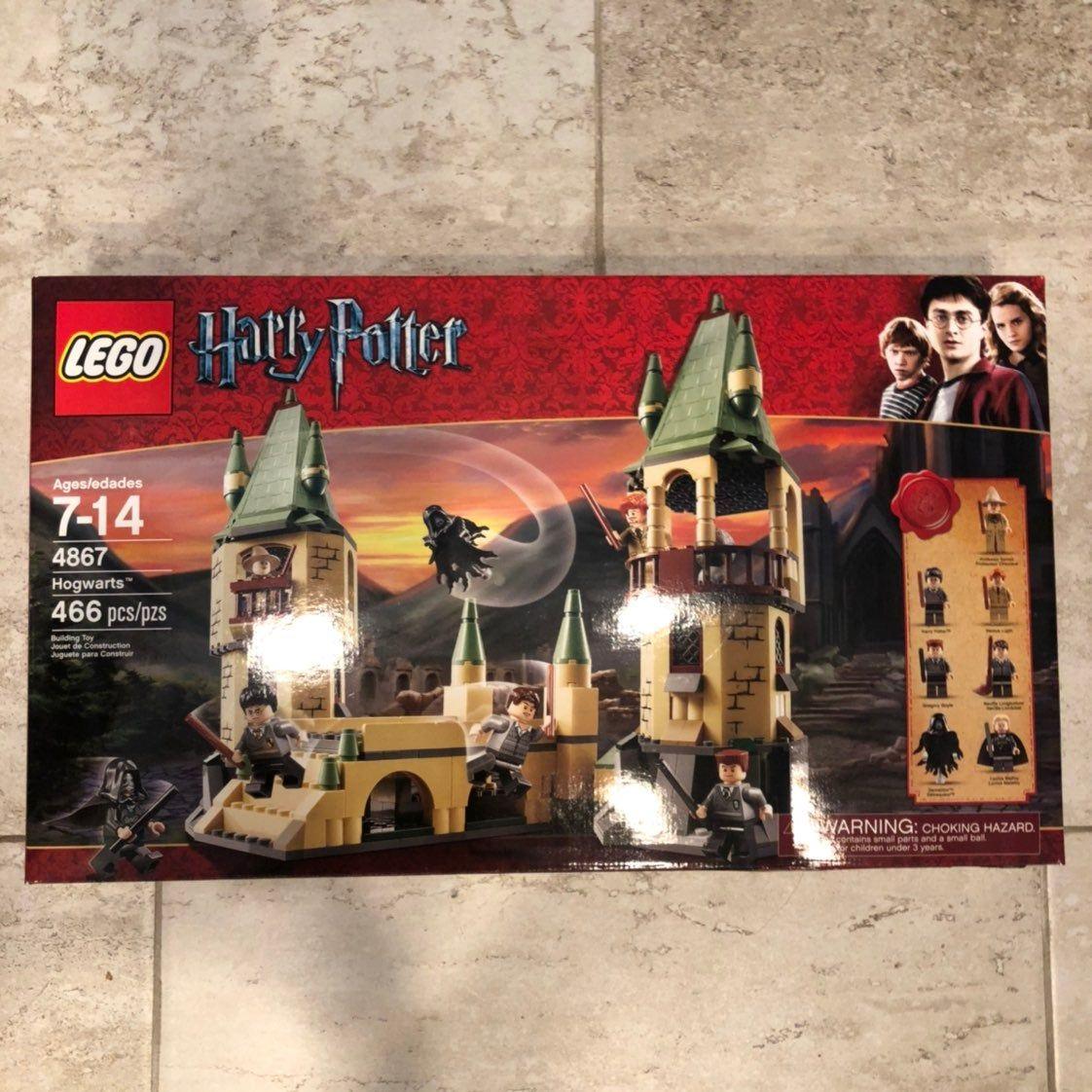 Brand New Lego Harry Potter Hogwarts 4867 In Box Unopened No Longer Made Lego Harry Potter Harry Potter Hogwarts Harry Potter Fantastic Beasts