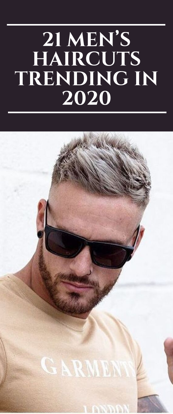Photo of 21 Men's Haircuts Trending in 2020