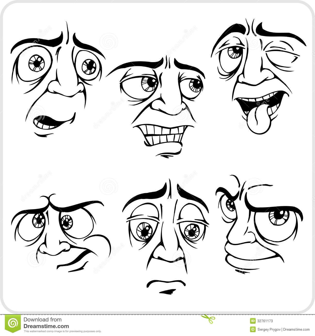vector facial expressions - Google Search