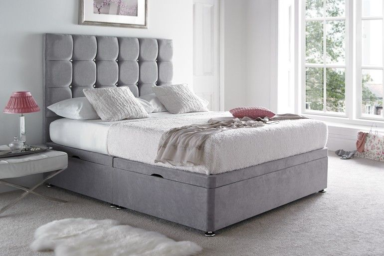 The Diamond Cube Ottoman Bed For A Stylish Bed With A Touch Of