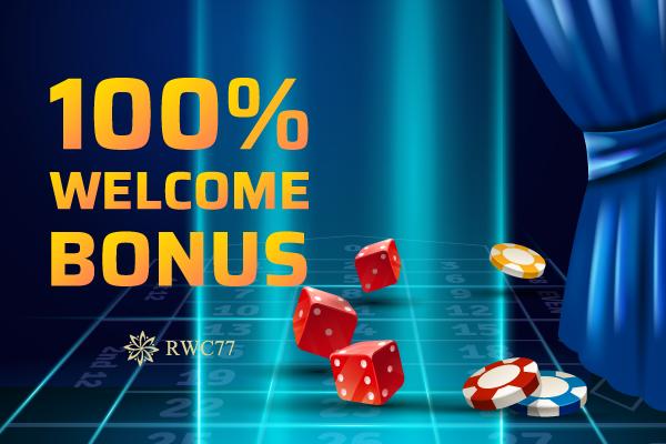 Welcome Bonus 100 Online Casino Casino Casino Promotion