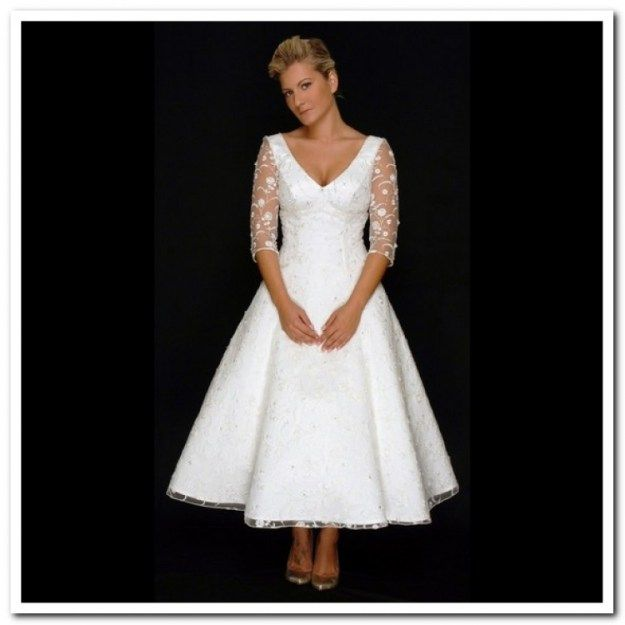 looking for top tea length wedding dresses for older brides we have a tendency to