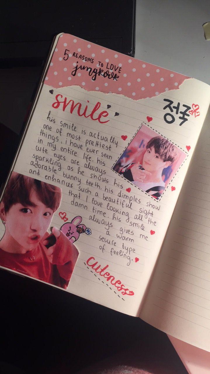 kpop journal ideas jungkook is bae  kpop  kookie  kpopjournal  love  bts