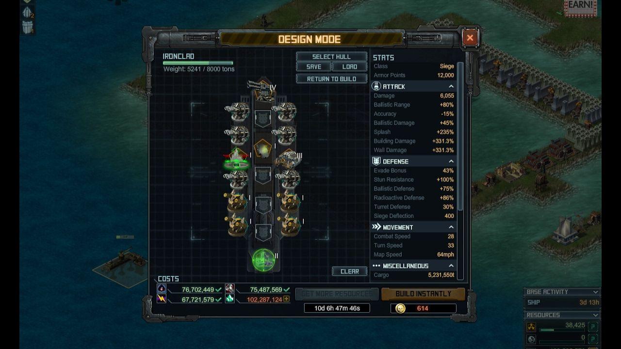 Battle Pirates Building Ironclod For Low Lvl Battle Pirates