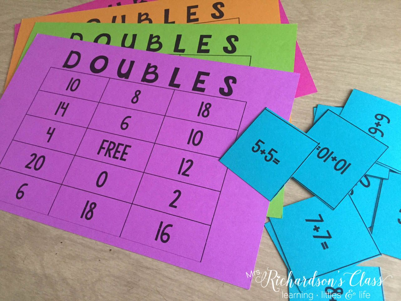 3 Activities To Makes Doubles Addition Fun Freebie