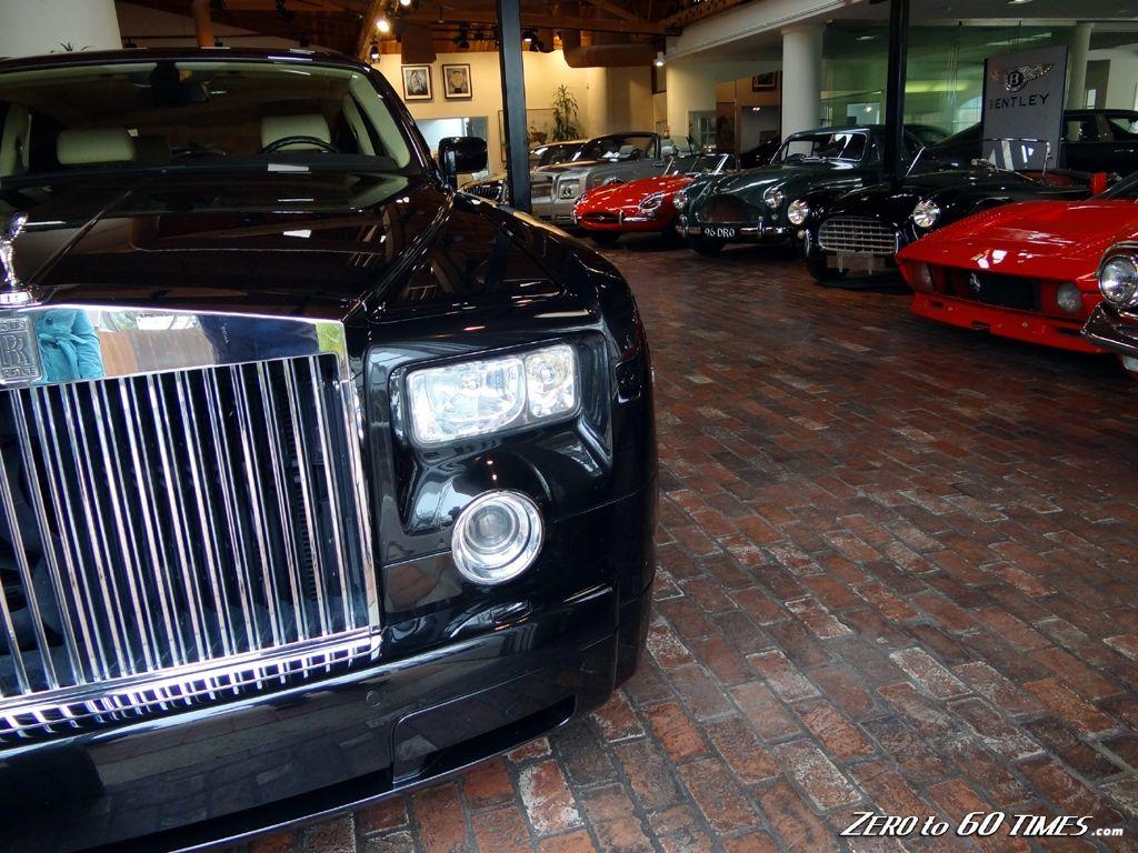 Symbolic Motors Showroom In California Expensive Car Dealer