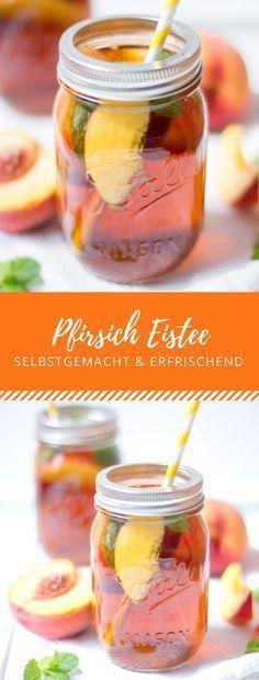 Pfirsich Eistee #bestgincocktails