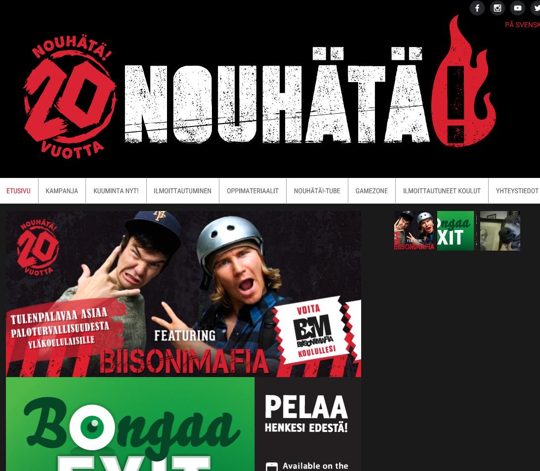 Suomenkielinen NouHätä!-virtuaalioppitunti alkaa nyt! Klikkaa itsesi osoitteeseen http://videonet.fi/web/spek/naantali/ ja valmistaudu oppimaan elämäsi tärkeimpiä taitoja.
