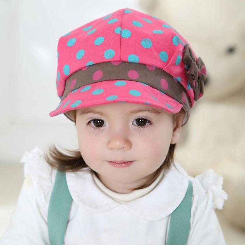 9cb8cf898 Bé Mũ Mùa Hè Mùa Thu Mới Đến Chấm Cung Hat cho Trẻ Sơ Sinh trẻ em ...