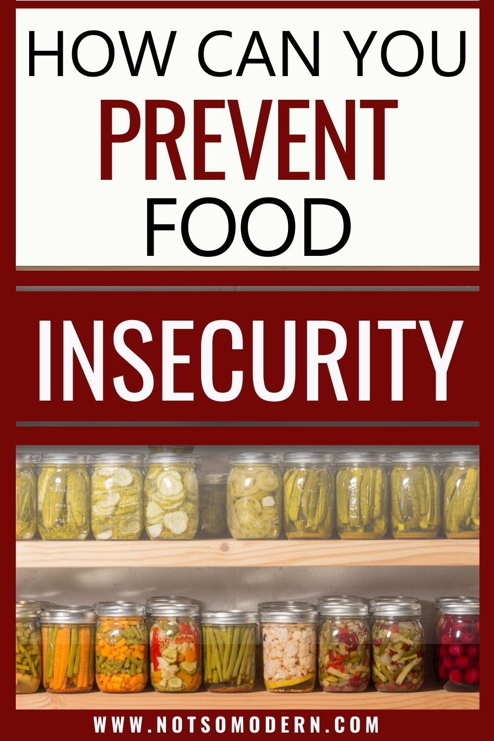3 Strategies To Avoid Food Insecurity Food Insecurity Food