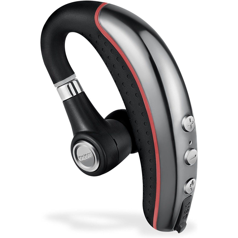 Bluetooth Headset Ansion Wireless Bluetooth 4 1 In Ear Earpiece Earbuds Earphones Headphones With Noise Reduction Mute S Headphones Bluetooth Earpiece Earphone