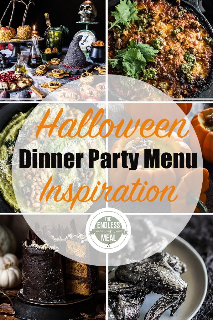 Halloween Dinner Party Menu Inspiration Halloween dinner