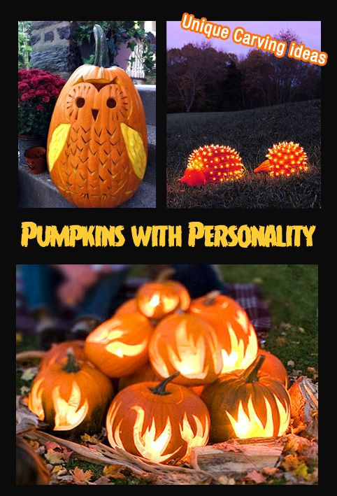 Halloween Decorating Ideas Pumpkins with personality Halloween Fun