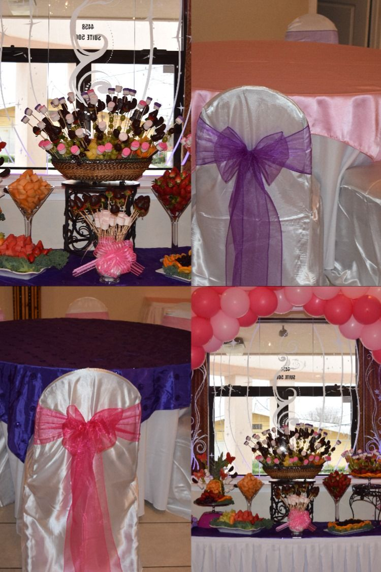 We offer services such as linen rental, cake, dj, limo