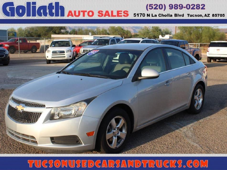 2012 Chevrolet Cruze See Price Description Used Tucson Car