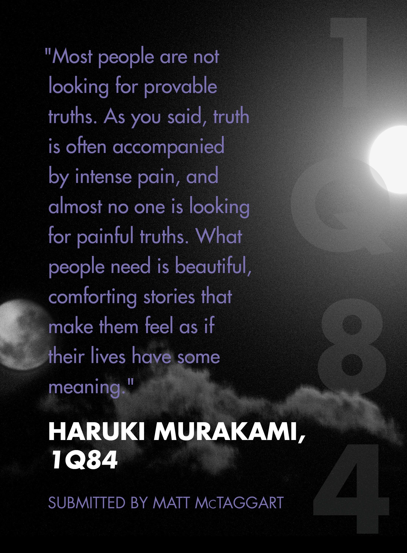 haruki murakami idézetek 1Q84 by Haruki #Murakami   Murakami quotes, Quotations, Literary