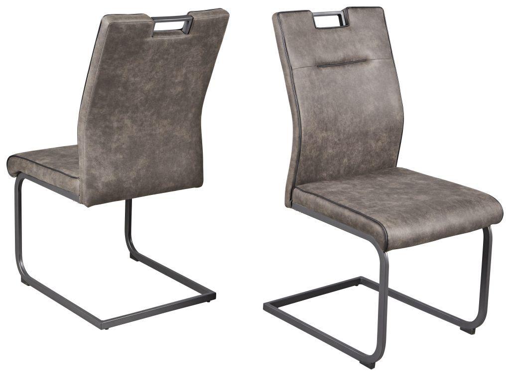 Schwingstuhl Rapita Vintage Grau In 2020 Schwingstuhl Stuhle Und Grauer Stuhl