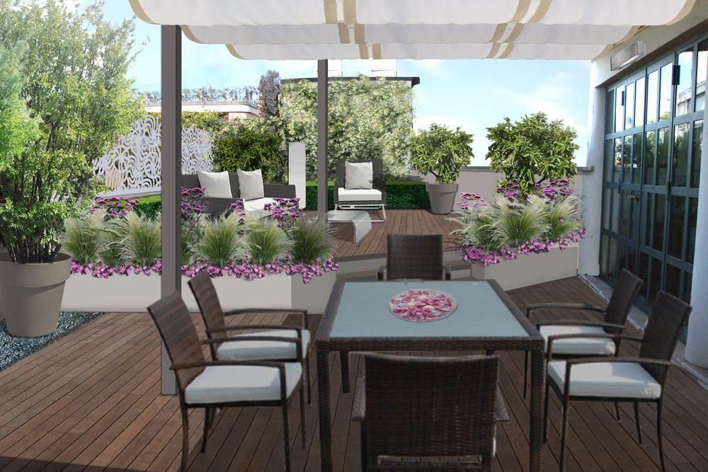progetto giardino online - galleria progetti giardini | progetti ... - Giardino Piccolo Progetto