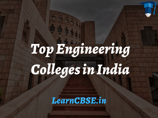 Top Engineering Colleges in India 2020 NIRF Rankings