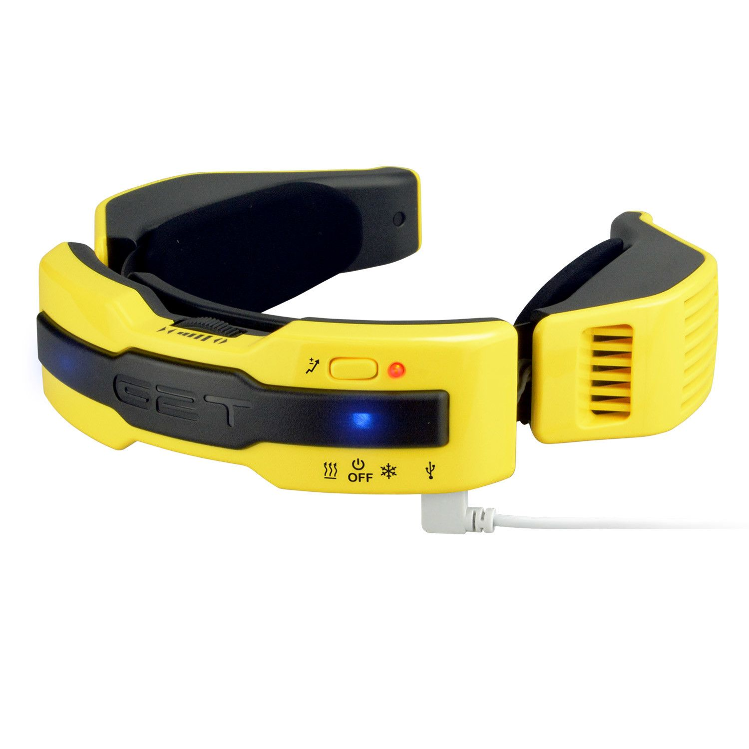 G2t Electric Scarf Yellow With Images Wearable Warm