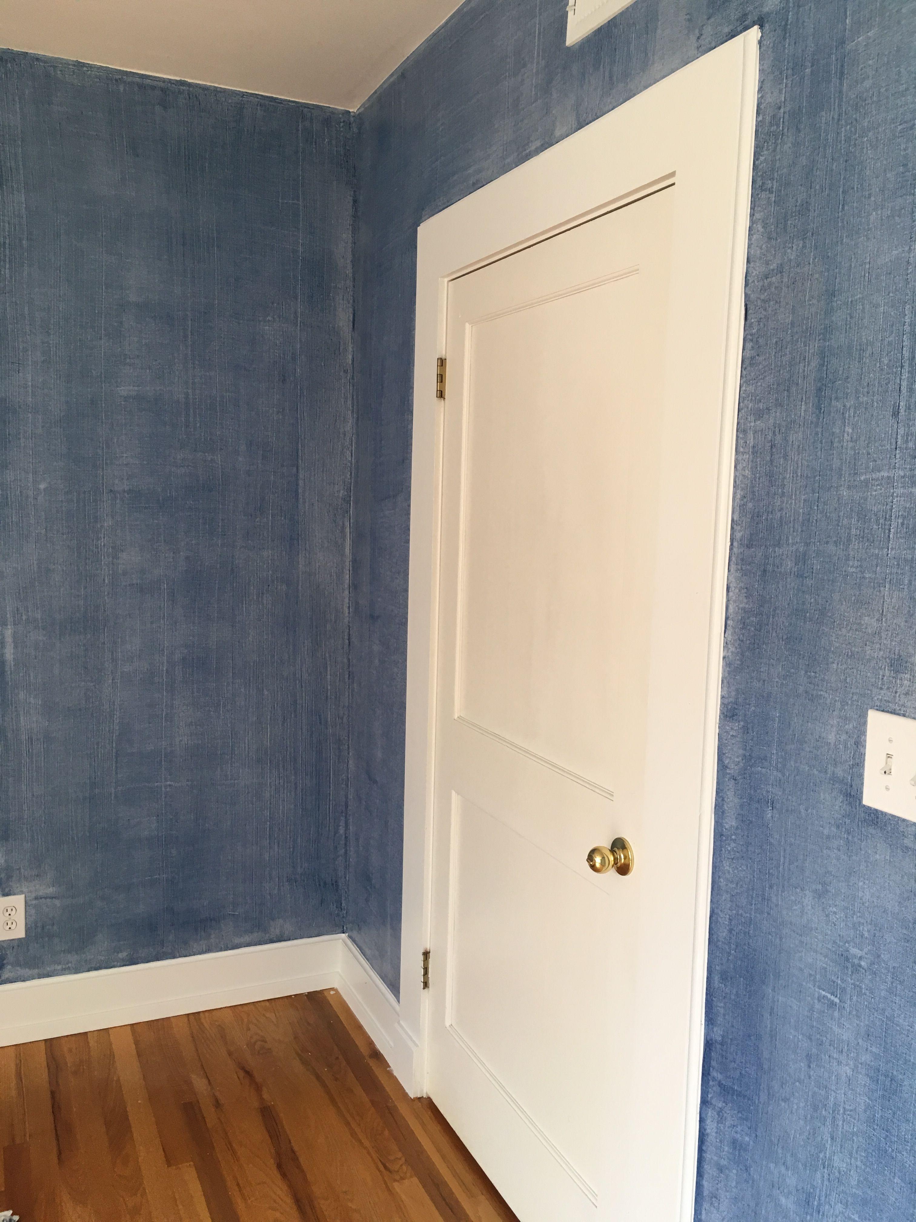 Ralph Lauren Denim Faux Finish Technique House Painting Painting Projects Painted Denim