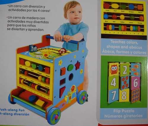 Mesa Construye Y Aprende Mega Bloks Fisher Price Con 30 Pzas 1 099 00 Carritos De Madera Manualidades Espacios Para Niños