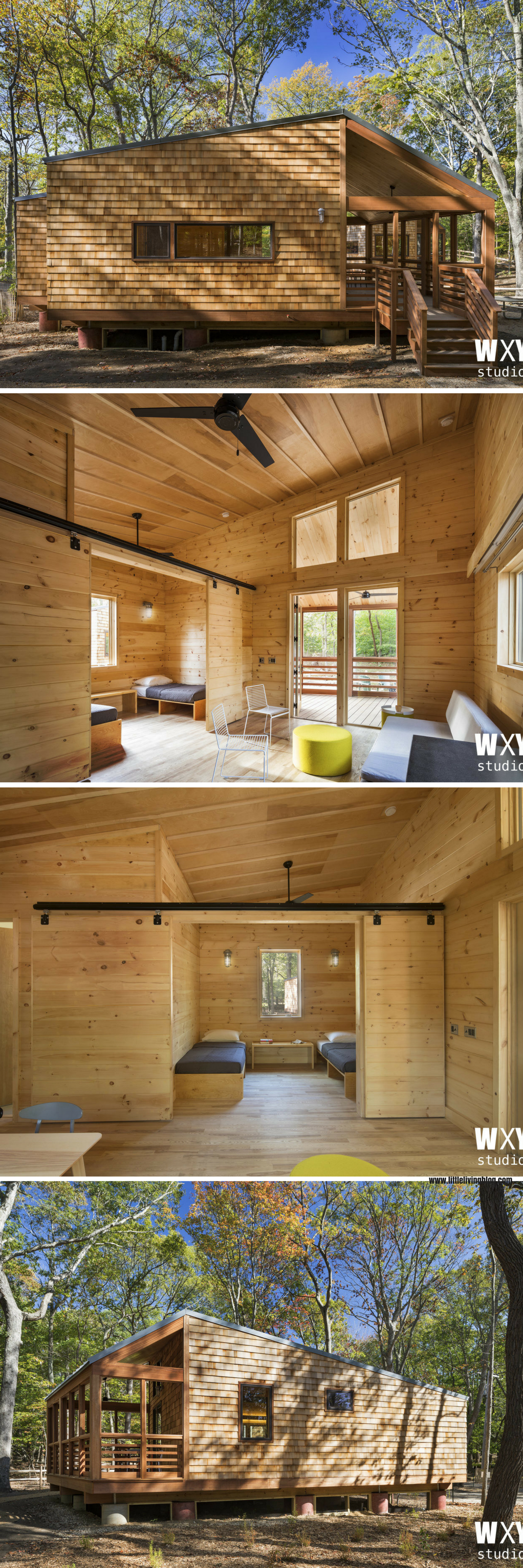 A Beautiful Modern Cabin That Will Be Available For Booking Less Than Two  Hours From NYC At The Wildwood State Park On Long Island!