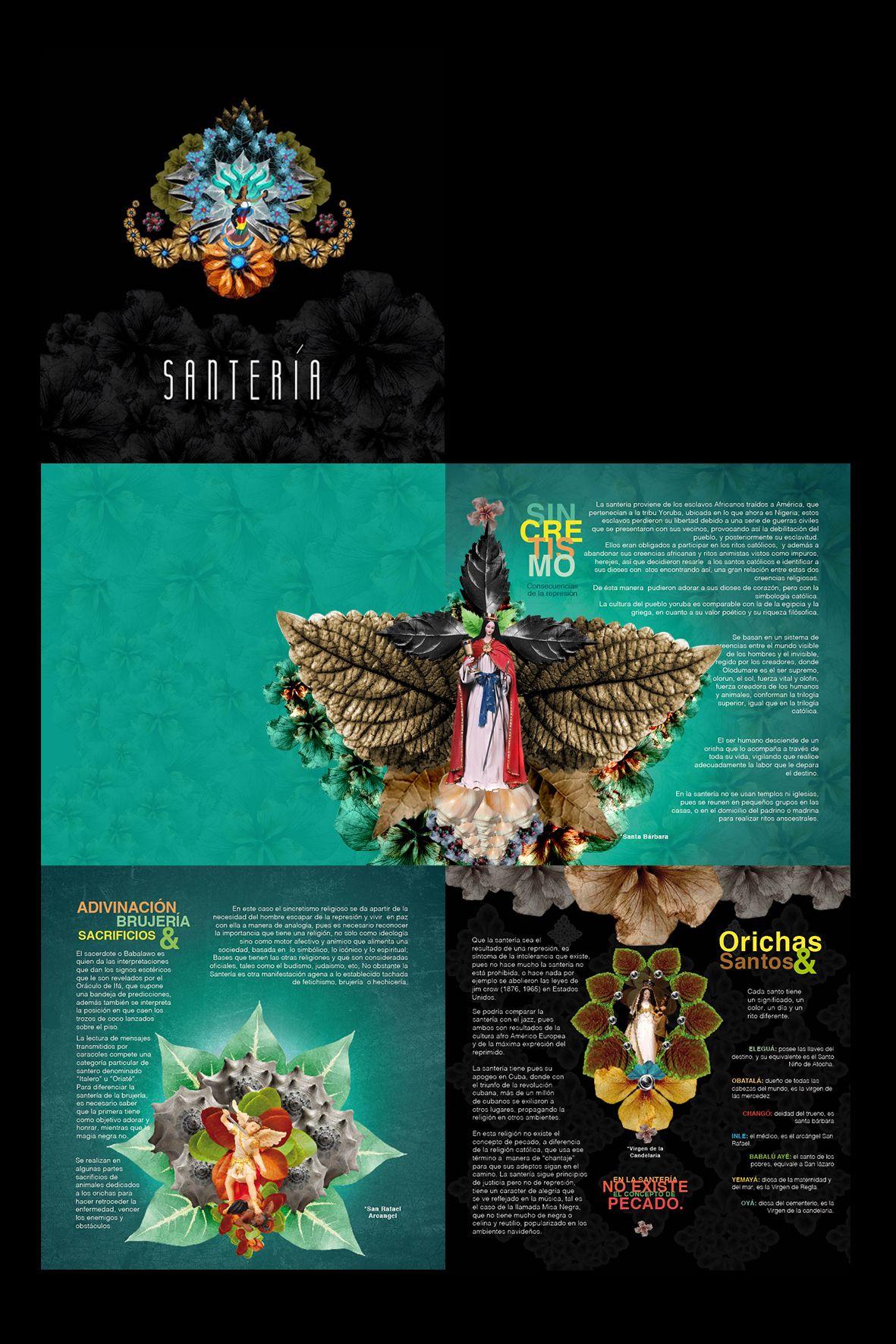 Santería On Behance Photography Editing Santeria Poster