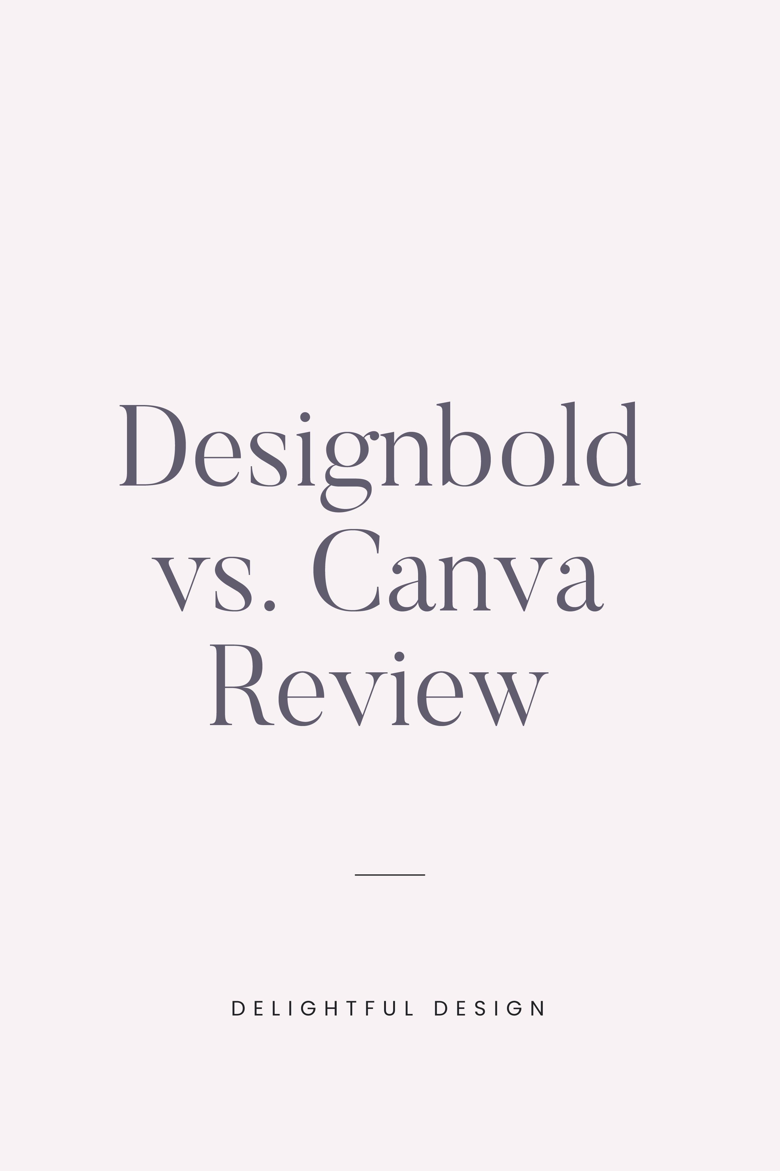 Designbold vs. Canva Review Which Online Design Software
