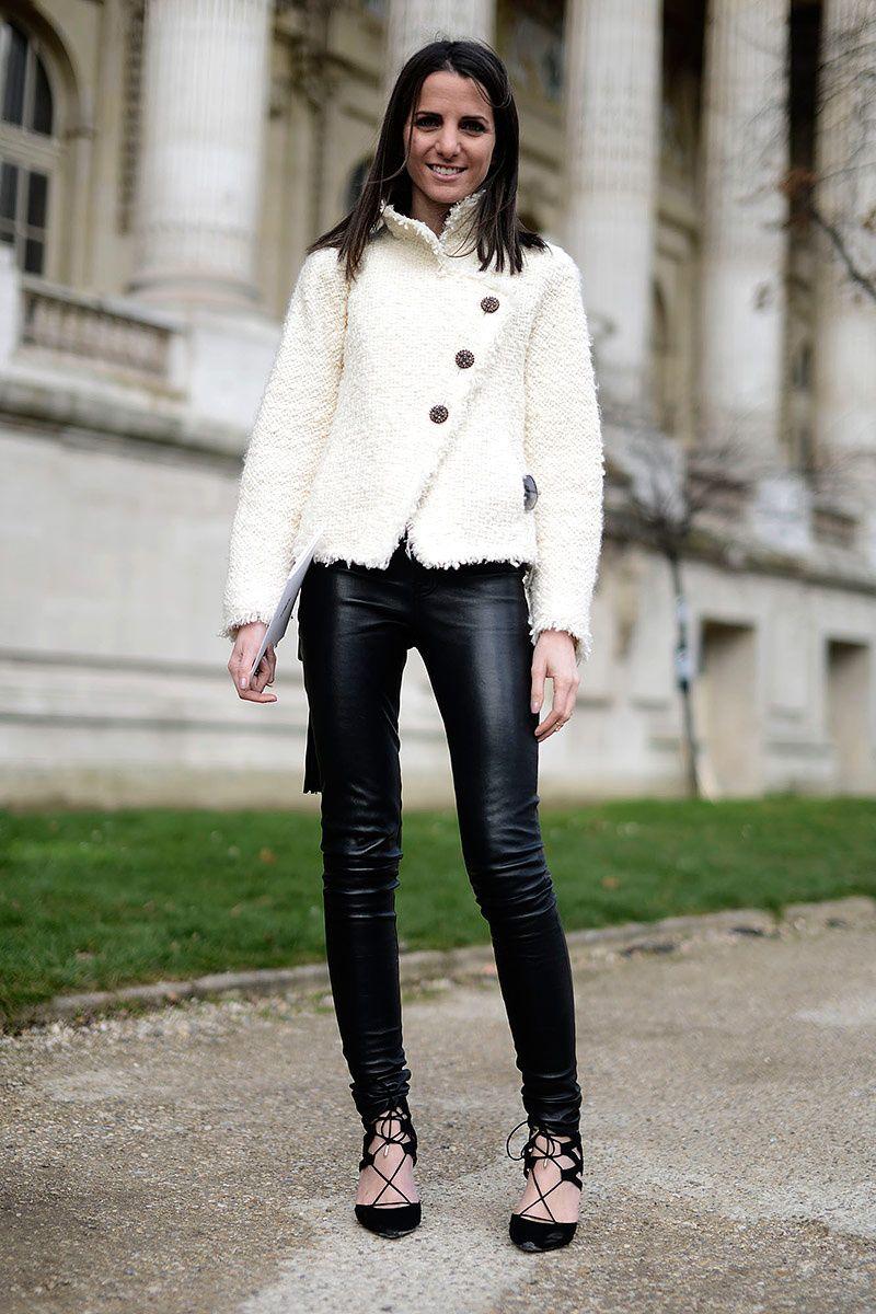 Street style Paris Fashion Week otono invierno 2014