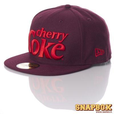 Czapka Fullcap New Era X Cherry Coke 7 1 4 Super 4819623898 Oficjalne Archiwum Allegro New Era Super Snapbox