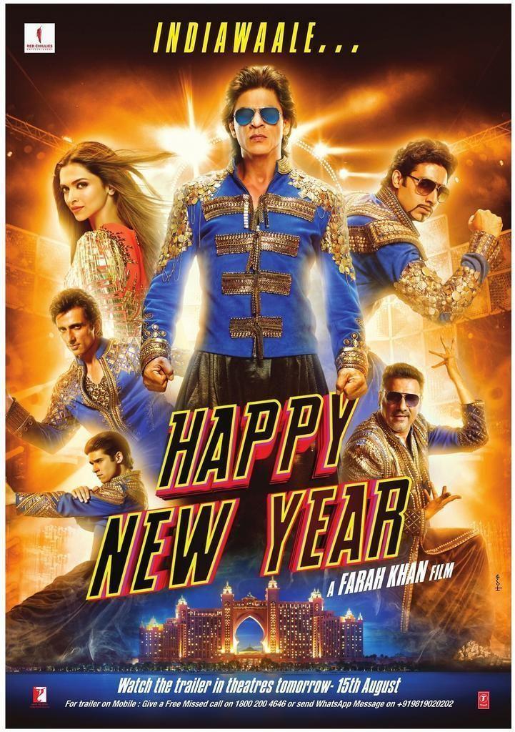 Srkcfc On Twitter Happy New Year Movie Happy New Year Bollywood New Year Movie