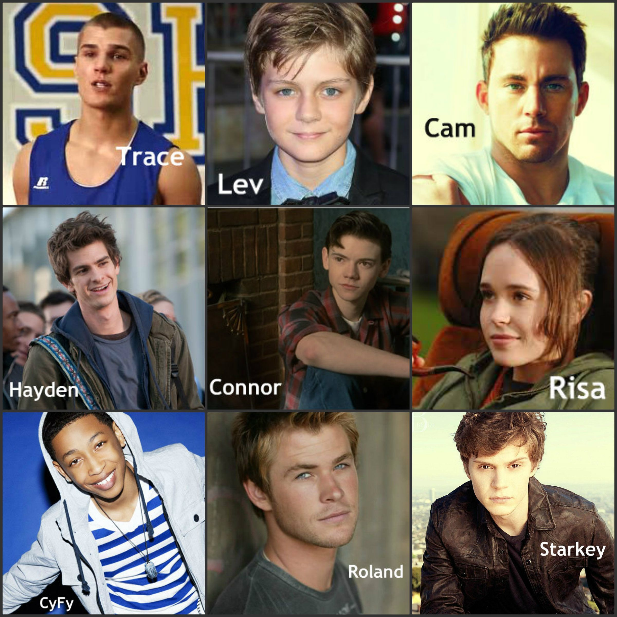Fan Cast For The Unwind Series By Neal Shusterman I Have Only