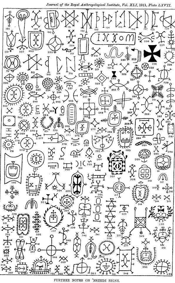 Nsibidi Is An Ancient System Of Graphic Communication Indigenous To The Ejagham Peoples Southeastern Nigeria