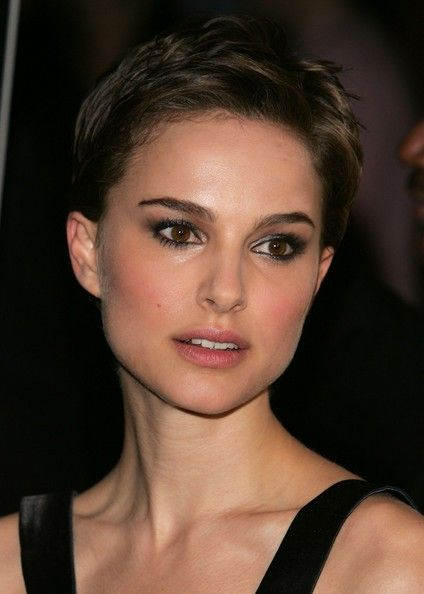 64 Short Hairstyles That Will Make You Want To Chop It All Off Prom Hairstyles For Short Hair Natalie Portman Short Hair Short Hair Styles